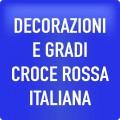 DECORAZIONI E GRADI CROCE ROSSA ITALIANA