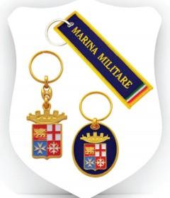 PORTACHIAVI-MEDAGLIE MARINA MILITARE