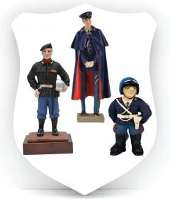 STATUINE E MODELLINI POLIZIA di STATO
