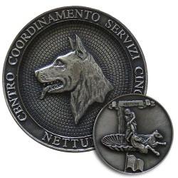 FERMACARTE CENTRO COORDINAMENTO SERVIZI CINOFILI NETTUNO