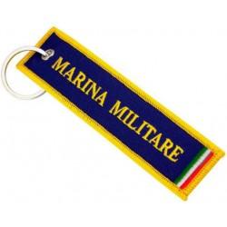 PORTACHIAVI MARINA MILITARE STOFFA