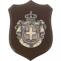 CREST CAVALIEREMALTA ARGENTATO